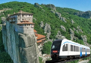 Meteora Day Tour By Train